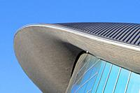 London Aquatics Centre at the Queen Elizabeth Olympic Park in Stratford - East London, England.