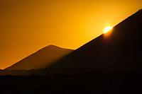 Volcanic Landscape, Soo, Lanzarote Island, Canary Islands, Spain, Europe.