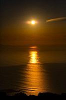 View from Riscos de Famara, Lanzarote Island, Canary Islands, Spain, Europe.