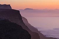 Riscos de Famara, Lanzarote Island, Canary Islands, Spain, Europe.