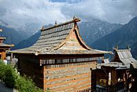 Hindu Temple in the small village of Kalpa.