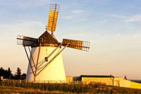 old windmill in Retz, Austria.