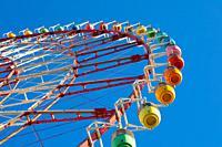 Japan,Tokyo City, Odaiba area, ferris wheel,.