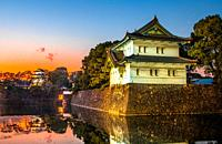 Japan,, Tokyo City, The Imperial Palace.