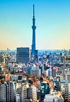 Japan, Tokyo City, Skytree Tower.