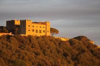 Ancient Castle, Castiglione della Pescaia, province of Grosseto, Tuscany, Italy, Europe.