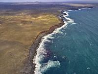 Coastline Reykjanes Peninsula, Iceland.