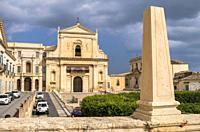 Monastery of Santissimo Salvatore, Noto, Siracusa, Sicily, Italy.