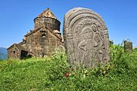 Armenie, province de Lori, monastere d'Haghpat, classé au patrimoine mondial de l'Unesco / Armenia, Mori province, Haghpat monastery, Unesco World Her...