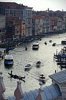 The Grand Canal. Venice, Veneto, Italy.