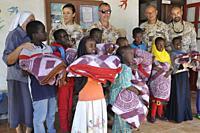 Djibouti, Ali Sabieh, life in the Catholic mission.