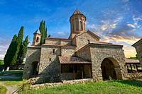 Pictures & images of the Church of the Transfiguration of Ikalto monastery was founded by Saint Zenon, one of the 13 Syrian Fathers, in the late 6th c...