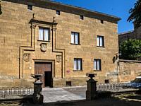 Casa de los Miranda. Ciudad Rodrigo. Salamanca. Castilla León. España.