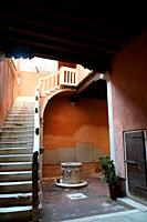 Venice (Italy). Interior access of a house in the city of Venice.
