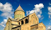 Pictures & images of the Eastern Orthodox Georgian Svetitskhoveli Cathedral (Cathedral of the Living Pillar) , Mtskheta, Georgia (country). A UNESCO W...