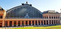 The station of Atocha is a railway complex located near the Plaza del Emperador Carlos V, in Madrid, Spain. It functions as a railway junction, and th...