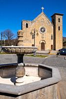 San Salvatore church in Bolsena, near Bolsena lake, Lazio, Italy.
