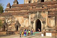 Sulamani temple, Old Bagan village, Mandalay region, Myanmar, Asia.