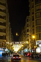 Sant Vicent street. València. Spain. 2019.