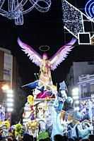 Fallas festival. València. Spain. 2019.