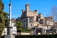 View of Bolsena town, near Bolsena lake, in Lazio, Italy.