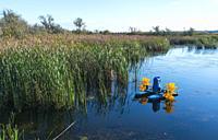 Aquaculture, Danube Delta, UNESCO WORLD HERITAGE, Tulcea County, Romania, Europe.