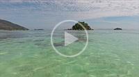 Turquoise Andaman sea near Serendipity Resort on Koh Lipe, Thailand