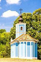 blue church, Szalka, Hungary