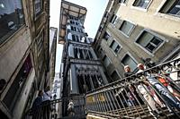 The Santa Justa Lift also called Carmo Lift is an elevator in Lisbon, Portugal.