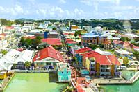St. John's Antigua is the capital and largest city of Antigua and Barbuda, located in the West Indies in the Caribbean Sea and with a population of 22...