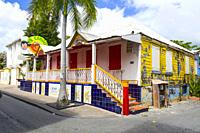 A cruise ship destination in the caribbean Philipsburg is the main town and capital of the country of Saint Sint Maarten. The town is situated on a A ...