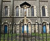Church of St Mary the Virgin and St Stephen the Martyr, Butetown, Cardiff, Wales, United Kingdom. The church was designed by John Foster in 1843