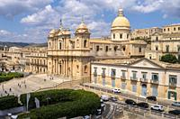 Cathedral, Noto, Siracusa, Sicily, Italy.