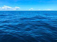 Horizon over the ocean.