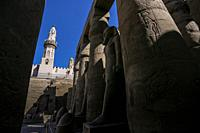 Luxor temple, Luxor city, Egypt.