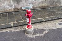 Fire hydran, Catania, Sicily, Italy.
