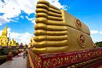 November 22, 2016, Vientiane, Laos: The big Buddha.