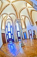 Episcopal Palace of Astorga, Palace of Gaudí, 19th Century Neogothic Style, Spanish Property of Cultural Interest, Astorga, León, Castilla y León, Spa...