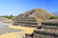 Pyramid of the Moon, Teotihuacan, Mexico.