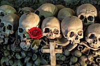 """the cemetery is known for a particular ritual, known as the rite of """"""""pezzentelle souls"""""""", which provided for the adoption and accommodation in exchan..."""
