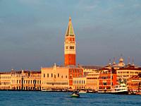 Campanile bell tower, Venice, Italy.