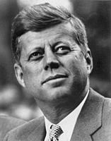 USA -- c. 1962 -- A portrait of US president John Fitzgerald Kennedy (1961-1963) -- Picture by Atlas Photo Archive.