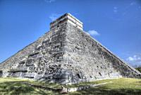 El Castillo, Chichen Itza, UNESCO World Heritage Site, Yucatan, Mexico