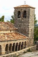 Iglesia del Salvador (church, 13th Century). Carabias. Ruta del Románico Rural. Guadalajara Province, Castile-La Mancha, Spain.