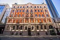 Art Nouveau (Jugendstil) architecture. Riga, Latvia, Baltic States, Europe.
