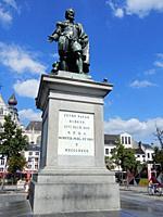 Peter Paul Rubens Statue, Antwerp, Belgium.