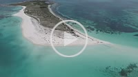 Los Roques, -Caribbean-sea-Fantastic-landscape.WATER CAY, ( CAYO DE AGUA) Caribbean sea. Fantastic landscape. Aerial view of paradise island bequeve w...
