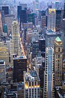 USA, New York City, Manhattan.