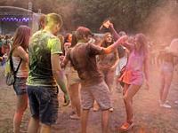 At Color Festival, Krakow, Poland.