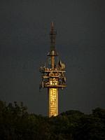 Television antenna in Krakow, Poland.